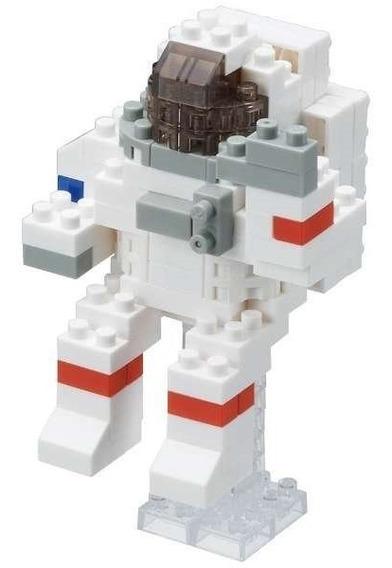 Nanoblock Astronauta Juguete Espacio Rompecabezas Space