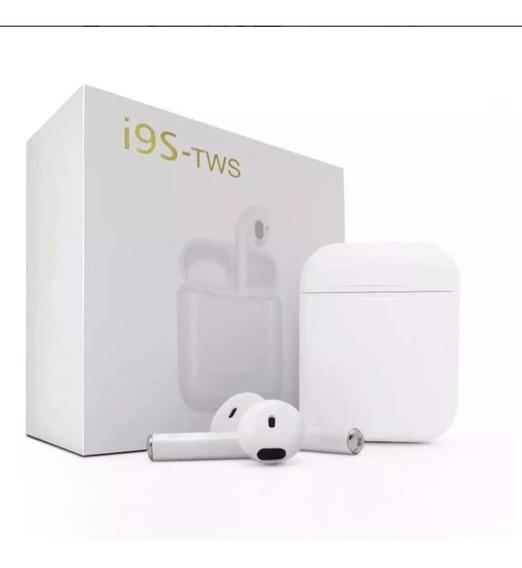 Airfones I9s Tws Bluetooth Wireless 5.0 High Bass + Brinde
