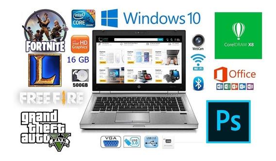 Notebook Corporativo Top Core I5 V Pro 16 Gb Bateria Nova