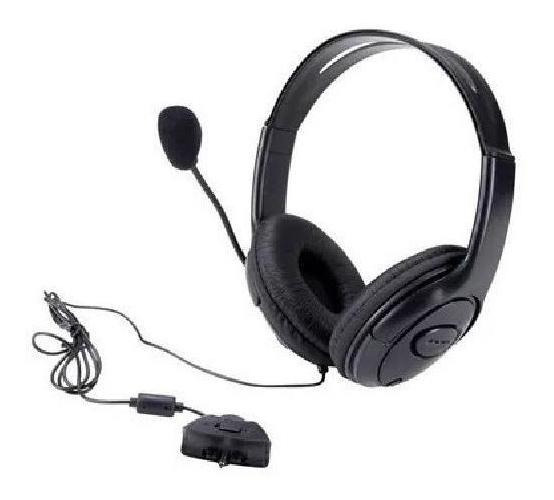 Fone Gamer Headset Para Xbox360 / Ps4 X11160 B-max