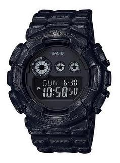 Reloj Casio G-shock Gd-120bt-1d Banda De Cuero I Ag Oficial