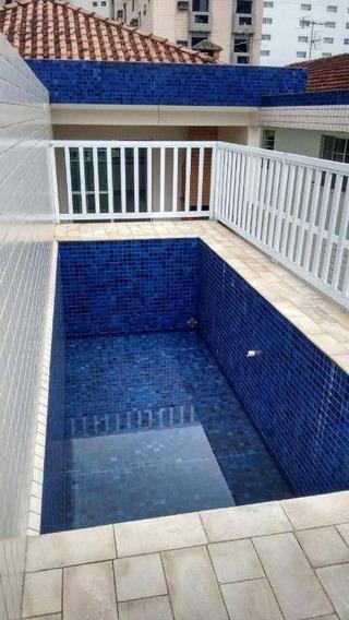 Casa À Venda, 269 M² Por R$ 1.100.000,00 - Boqueirão - Santos/sp - Ca0126