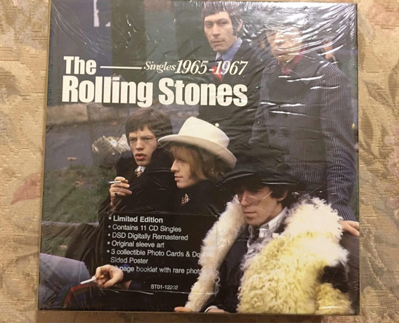 The Rolling Stones Box Singles 1965-1967 Limited Edition