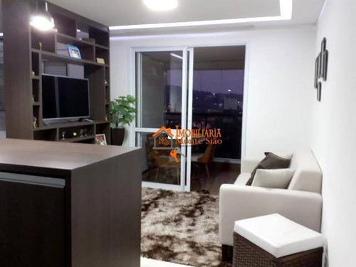 Studio À Venda, 38 M² Por R$ 320.000,00 - Jardim Flor Da Montanha - Guarulhos/sp - St0015