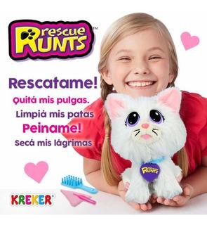 Rescata Y Adopta A Este Gatito Rescue Runs Kreker