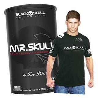 Mr Skull 44 Packs + Camiseta Original - Black Skull