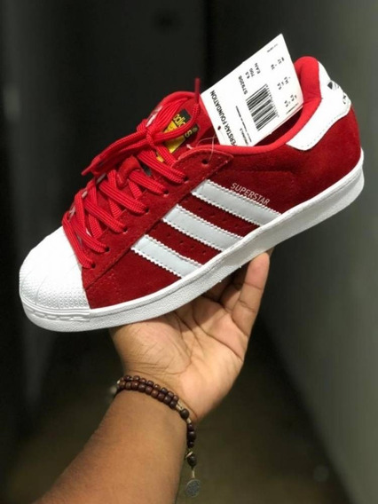 adidas Superstar Foundation Vermelho