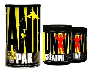 Animal Pak 44 Packs + Creatine 200+200gr Universal Nutrition