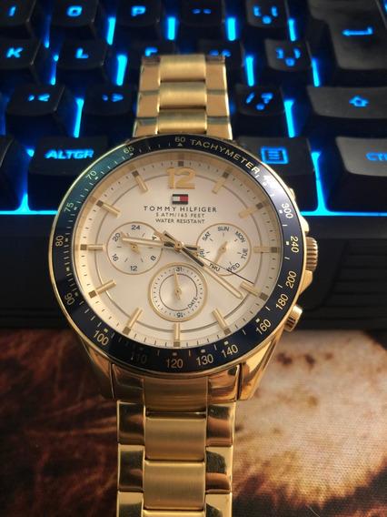 Relógio Masculino - Tommy Hilfiger - Dourado - Original