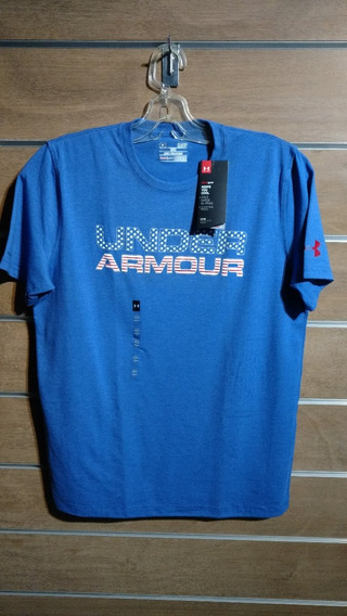 Playera Azul Under Armour