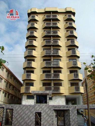 Apartamento Com 1 Dormitório À Venda, 76 M² Por R$ 201.900,00 - Centro - Mongaguá/sp - Ap2896