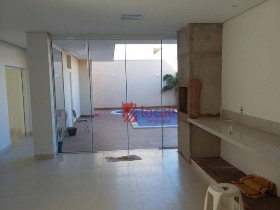 Casa Residencial À Venda, Parque Residencial Damha V, São José Do Rio Preto. - Ca1225