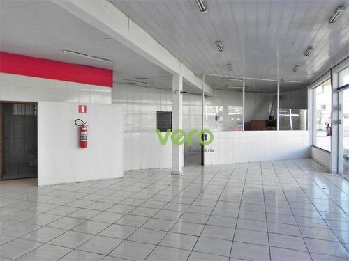 Imagem 1 de 14 de Salão Para Alugar, 122 M² Por R$ 2.500,00/mês - Vila Rio Branco - Americana/sp - Sl0038