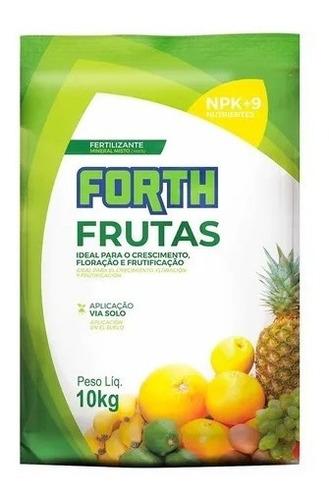 Imagem 1 de 4 de Fertilizante Adubo Forth Frutas Farelado - 10kg + Brinde
