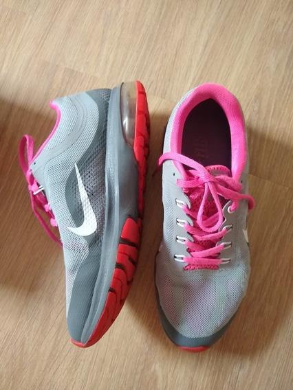 Tenis Nike Original Tamanho 35 Rosa Cinza Air Max Dynasty 2
