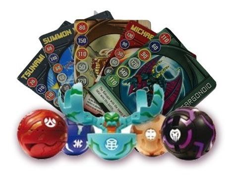 Esferas Bakugan Battle Brawler 5 Figuras 5 Cartas Sellado