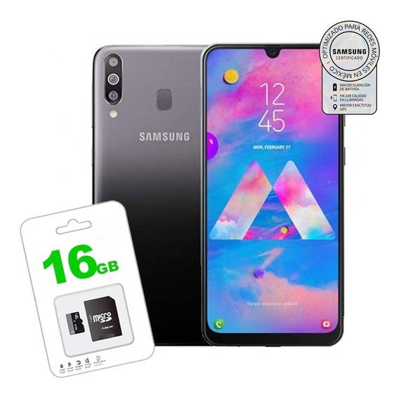 Celular Samsung Galaxy M30 64gb 4gb 3 Camara + Micro Sd 16g