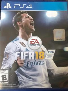 Fifa 18 Disco Cd Original Para Ps4