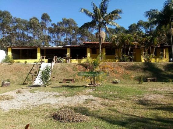 Chácara Com 2 Dormitórios À Venda, 2000 M² Por R$ 950.000 - Chácara Estância Paulista - Suzano/sp - Ch0317