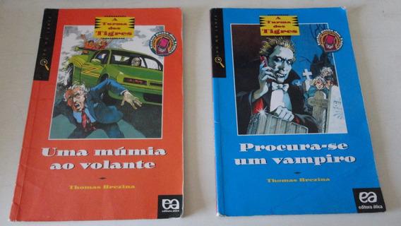 A Turma Dos Tigres Thomas Brezina Lote De 5 Livros
