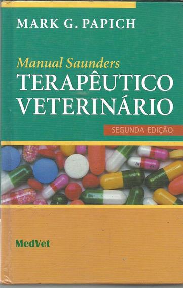 C1059 - Manual Saunders, Terapêutico Veterinário - Papich