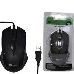 Mouse Usb C/ Fio Preto 1000 Dpi Sb-s03