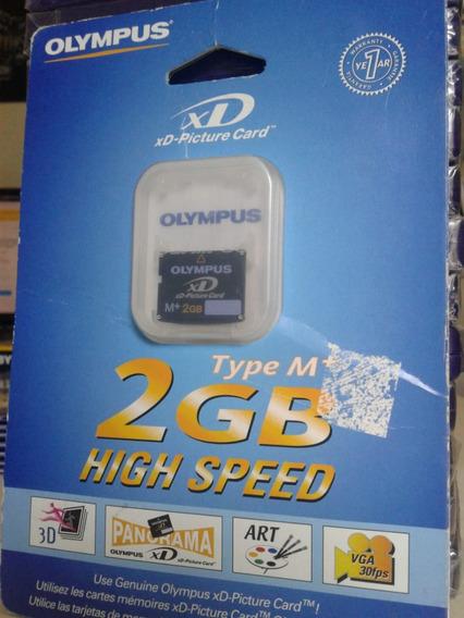 Cartão De Memória Olympus Xd 2gb High Speed Original Novo