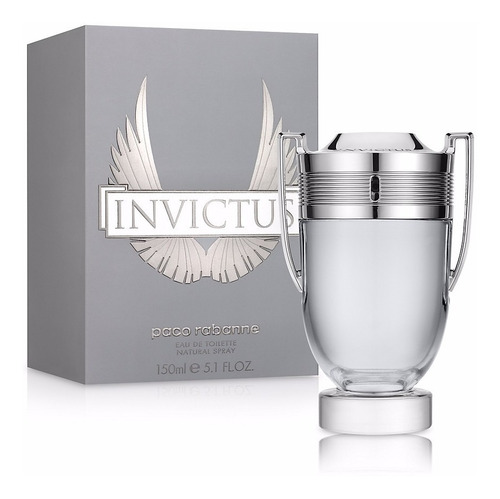 Perfume Original Hombre Invictus Paco Rabanne 150 Ml
