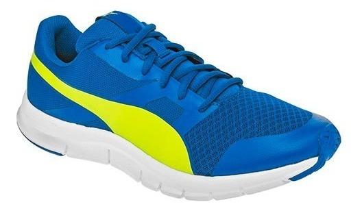 Tenis Puma Flexracer Azul Tallas Del #25½ Al #28½ Hombre Ppk