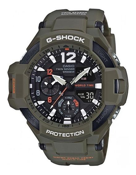 Relógio Casio G-shock Gravitymaster Ga-1100kh-3 Masculino