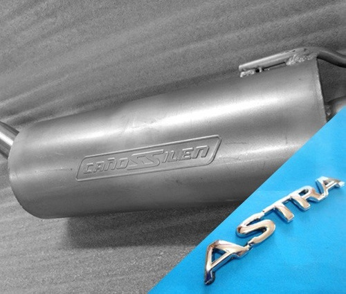 Caño De Escape  Equipo Completo Para Astra 2.0