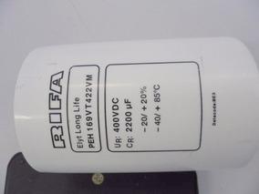 302b - Kit Com 04 Capacitores Eletrolitico 2200ufx400v