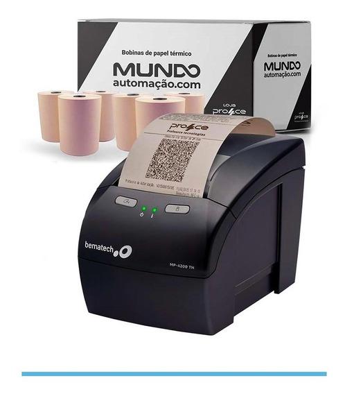 Impressora Mp 4200 Bematech + 30 Un De Bobina Térmica 80x40