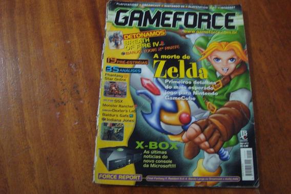 Revista Game Force 5 / Morte De Zelda X Box Breath Of Fire
