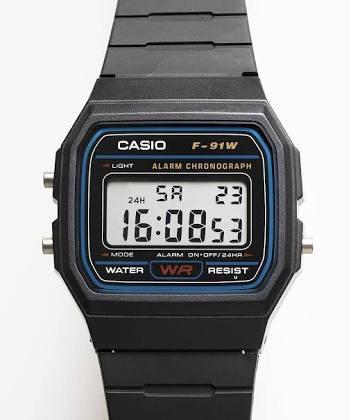 Relojes Casio F91w.