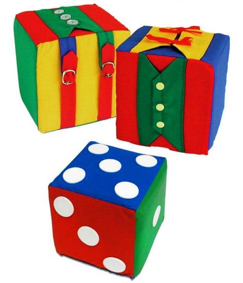 Brinquedo Educativo Cubos Dado Com Pontos Cubos Atividades