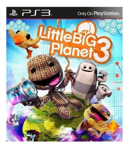 Imagen 1 de 3 de LittleBigPlanet 3 Sony PS3 Digital