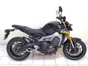 Yamaha Mt-09 Abs 2016 Roxa