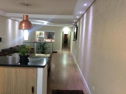 Sobrado Com 3 Dormitórios À Venda, 340 M² Por R$ 1.920.000,00 - Santa Paula - São Caetano Do Sul/sp - So2046