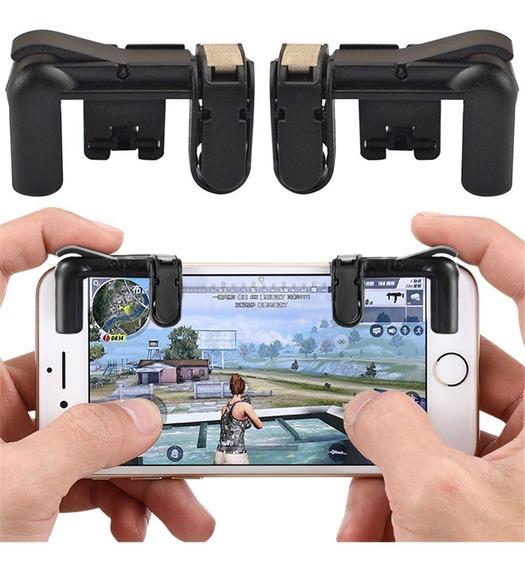 Controlador Tiro Do Gatilho L1r1 Botão Fogo Gaming Telefone