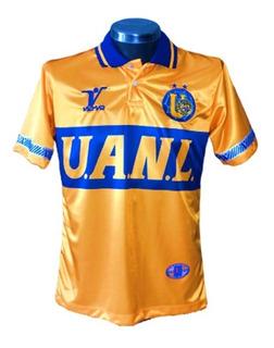 Jersey Retro Tigres Uanl. Marca Vicmar 100% Originales