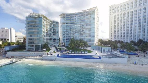 Penthouse Departamento En Venta De 5 Recámaras, Punta Cancún, Zona Hotelera