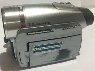 Camara De Video Sony Minidv Dcr-hc96 Pantalla Touch Tactil