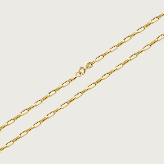 Cordão Em Ouro 18k Com 60cm - 3,6gr