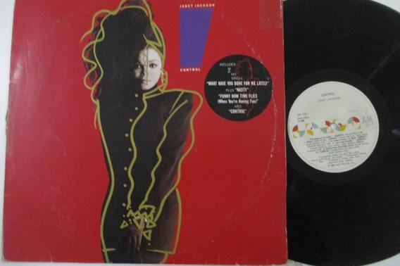 Lp Janet Jackson1986, Control (ver Descrição)