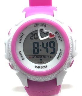 Reloj Digital Sumergible Niño Dama 88-23