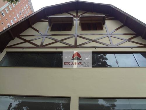 Imagem 1 de 6 de Casa Para Alugar, 384 M² Por R$ 12.000,00/mês - Jardim Esplanada - São José Dos Campos/sp - Ca0463