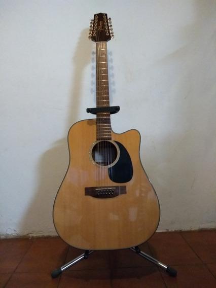 Guitarra Electroacustica Takamine 12 Cuerdas