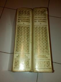 Diccionário De Filosofia Em 2 Volumes De José Ferrater #