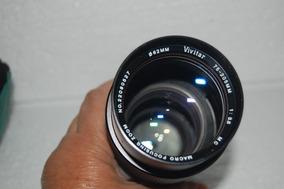 Lente Vivitar 75-205mm Mc Macro Focusing Usada